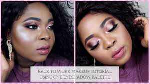 back to work easy makeup tutorial 2018 colourpop you had me at o