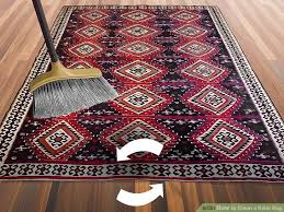 image titled clean a kilim rug step 1