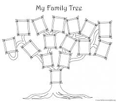 025 Generation Family Tree Template Simple Breathtaking