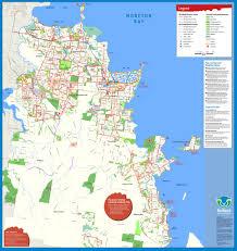 Moreton Bay Cycling Walking Map - Maplets