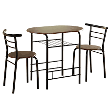 Kitchen Table Sets Under 300 Tms Bistro 3 Piece Compact Dining Set Reviews Wayfair