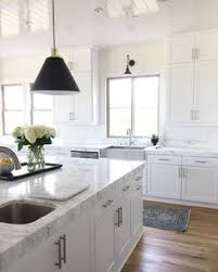 15 Best Black counter - white cabinets images | Kitchen dining ...