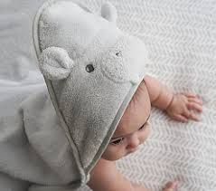 <b>Baby Hooded</b> Towels + Towel Wraps | Pottery Barn Kids
