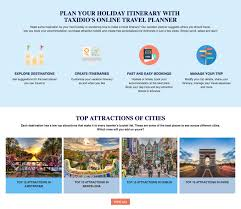 Vacation Planner Online Taxidio Is Your One Stop Destination For Everything Travel