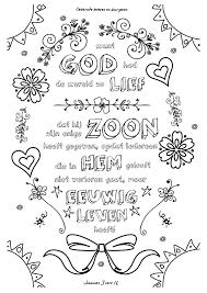 001 Want God Had De Wereld Zo Lief Kleurversjesnl