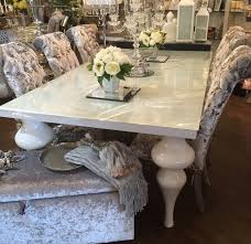 glass dining table and velvet chairs. glass dining table and velvet chairs