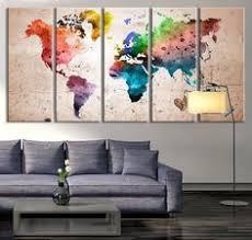 oversized canvas art prints world map canvas art print large wall art world map on world map wall art canvas with world map canvas wall painting home decor vintage large canvas print
