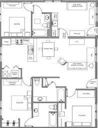 Delightful 3 Bedroom Floorplan