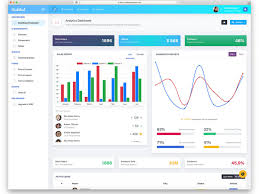Chart Icon Bootstrap 37 Free Bootstrap Admin Templates That Saves Your Money And Time