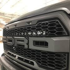 2018 Raptor Light Bar Ford Raptor Grille Led Light Bar Kit Led Lighting Baja