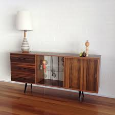 Restored And Upcycled Mid Century Sideboard From