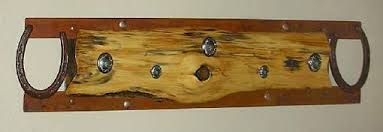 Western Coat Rack Hand Crafted Western Style Plank Cedar HatCoat Rack By Southwest 32