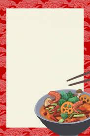 Restaurant Menu Background Material Restaurant Menu Recipe