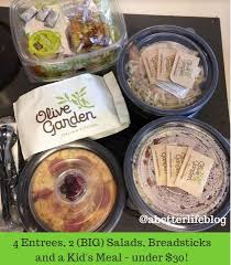 deals at olive garden. my favorite deal at olive garden is back \u2013 or combination of deals actually! first you have the buy any entree from one take menu and get an k