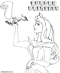 Small Picture Coloring Pages Princess Fairy Coloring Pages Princess Aurora With