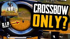 Pubg Crossbow Damage Chart Crossbow Only Challenge In Pubg Mobile