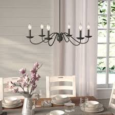 chandelier in dining room. Plain Dining Farell 6Light Chandelier Intended In Dining Room O