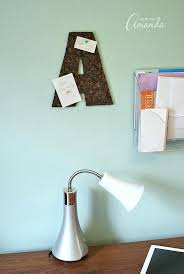 corkboard wall this wall letter is perfect for a teens bedroom or a dorm room this