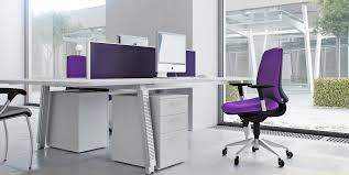 purple office decor. Stunning White Purple Color Decorating With Swivel Office Chairs Also Cool Modern Table As Well Large Glazed Windows Decor P