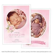 newborn baby announcement sample 71 best birth announcement templates family photography templates
