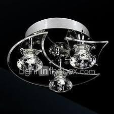 <b>LAIMAIK</b> Crystal <b>LED Ceiling Light</b> AC90-260V Modern Ceiling <b>LED</b> ...