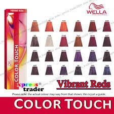Colour Touch Colour Chart Image Result For Wella Color Chart Reds Wella Colour Chart