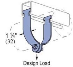 Emt Hole Saw Size Chart Unistrut P1425 Thru P1431 Conduit Emt Clamp 1 5 8 Series