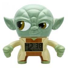 Купить <b>часы</b> Star Wars <b>Будильник</b> BulbBotz Yoda Йода 19 см ...