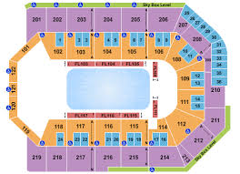 Citizens Bank Arena Seating Chart Toyota Arena Seating Chart Ontario