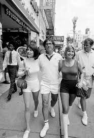 Photos of the real Battle of the Sexes show Billie Jean King's triumph over  boorish Bobby Riggs   by Rian Dundon   Timeline