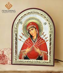 china whole bulk gifts the seven swords the sorrows of mary picture framed small religious souvenir manufacturers suppliers and
