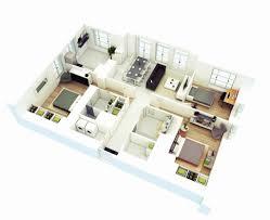 3 bedroom floor plans. Interesting Bedroom 4 Bedroom House Plan Designs Beautiful 25 More 3 3d Floor Plans On
