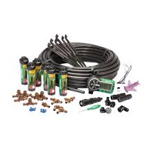 easy to install in ground automatic sprinkler system