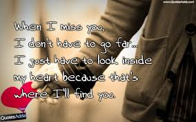 Miss U Quotes For Him 9 Incredible Sayings Incredible Quotes