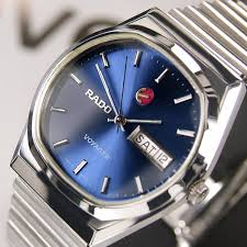 rado florence quartz date black dial swiss men s rare vintage rado voyager automatic day date blue dial rare swiss men s vintage used watch rado luxurydressstyles