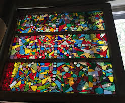 using old windows ones from homes that we have replaced with new and more energy efficient windows and a huge varity of stained glass we will create these