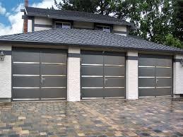 side hinged garage door slick