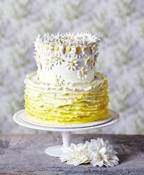 Fresh Flowers To Vibrant Butterflies 10 Pretty Wedding Cakes For