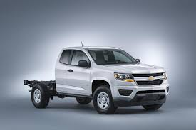 Chevrolet Colorado Chassis Cab Loses Its Bed for the Sake of Work ...