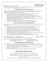 resume template  it support resume objective resume builder    it support resume objective   systems operations experience