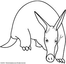 Small Picture Aardvark Coloring Pages GetColoringPagescom