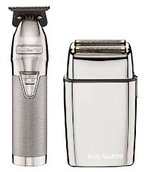 Babyliss Pro Combo Silverfx Skeleton Hair Trimmer Foilfx02 Shaver Free Delivery