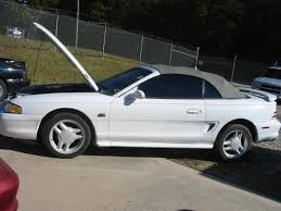 ford mustang convertible white. 9498 ford mustang convertible 5 manual white