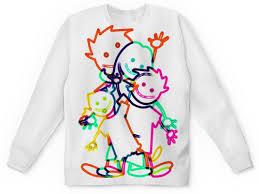 """<b>Детский</b> свитшот унисекс """"Семь Я"""" #2854475 от Кашкет - <b>Printio</b>"""