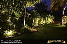 landscape lighting installation in miramar