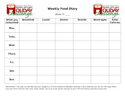 Best Photos Of Weekly Food Log Excel Weekly Food Diary