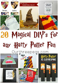20 magical diy s for any harry potter fan