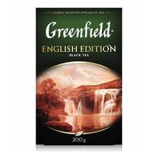 <b>Чай GREENFIELD English</b> Edition <b>черный</b>, листовой, 200г ...