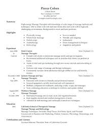 Occupational Therapy Resume Template Kinesiology Resume Terrific Free Sample Resume Template Cover 66