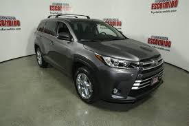 New 2018 Toyota Highlander Limited Sport Utility in Escondido ...